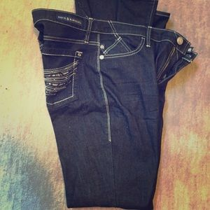 Rock and Republic boot cute flared jeans